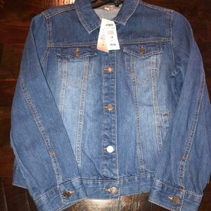 Women's size medium como vintage denim jean jacket